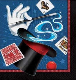 Creative Converting SERVIETTES DE TABLE (16) - MAGICIEN
