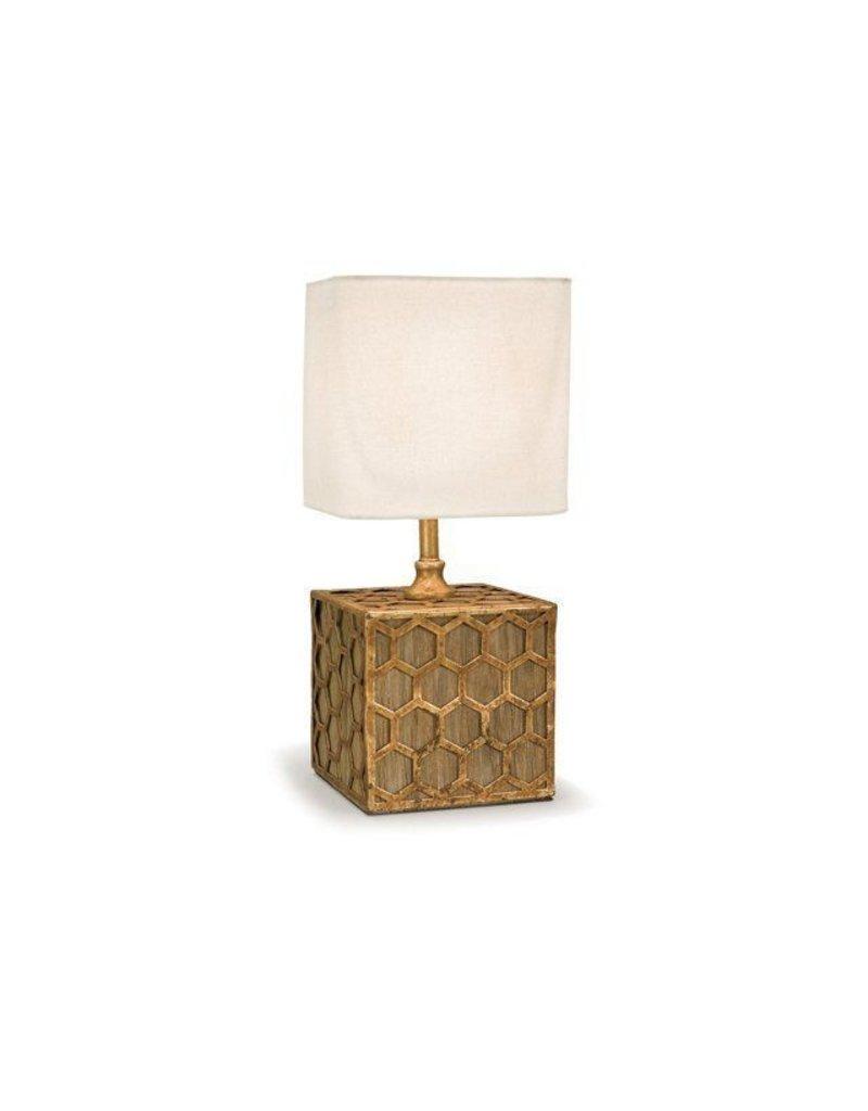 Gold Honeycomb Lamp 8Dia14H