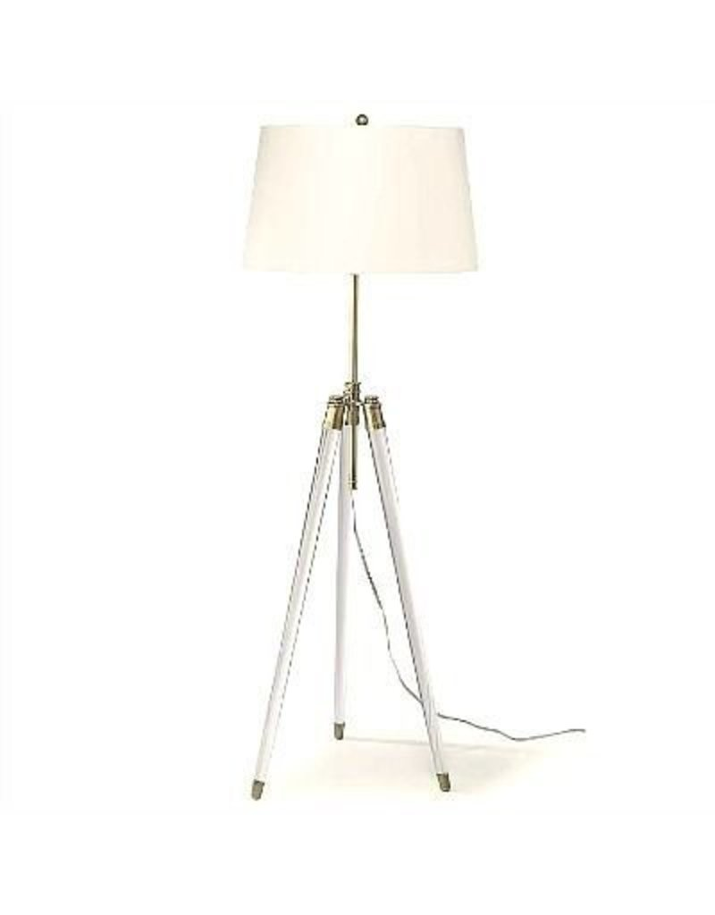 Brigitte Floor Lamp Brass 19W(Adjustable Height)