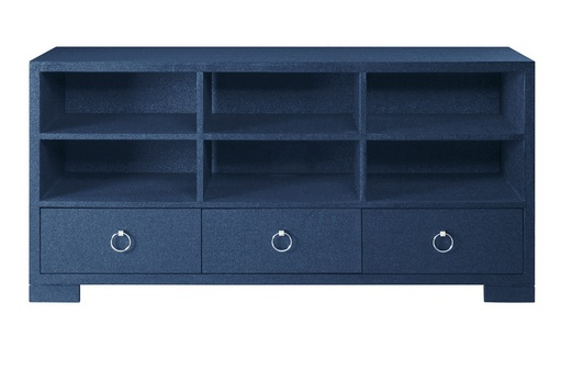 Franki Cabinet Navy Blue 61W21D32H