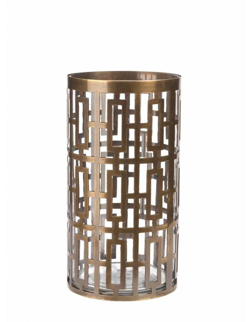 Cypress Hurricane Antique Brass