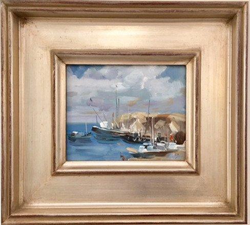 Original Oil by Ivan Beachscape