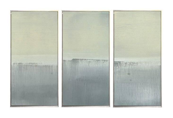 Seascape Print Gallery Newport White - 17x40