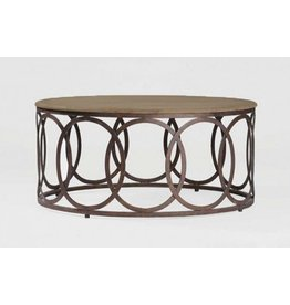 Ella Coffee Table 39.9W39.9D18H
