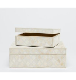 Malik Ivory Box Small 9L7W4H
