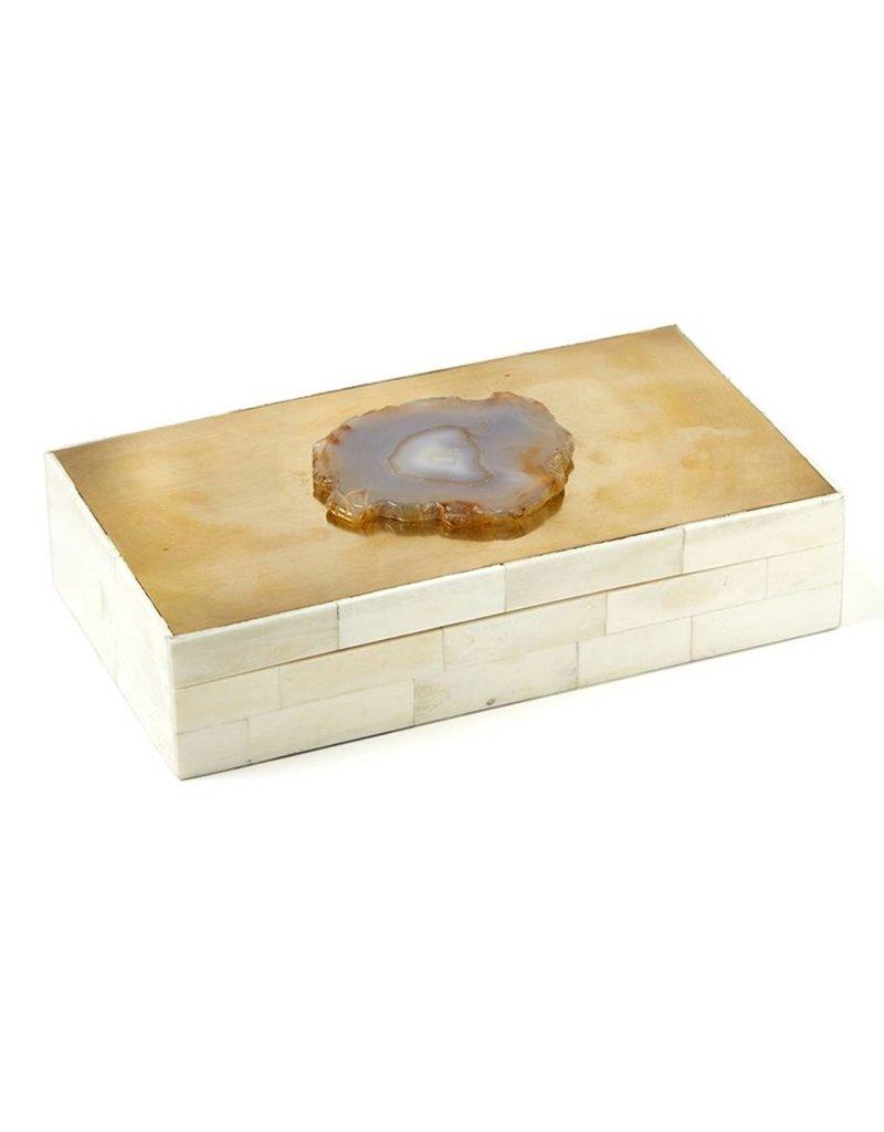 Genuine Agate Covered Box 9W5D2H