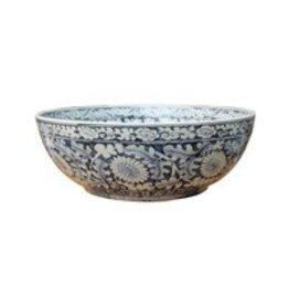 Ming Bowl Floral Motif