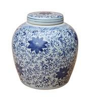 Twisted Vine Floral Ming Jar