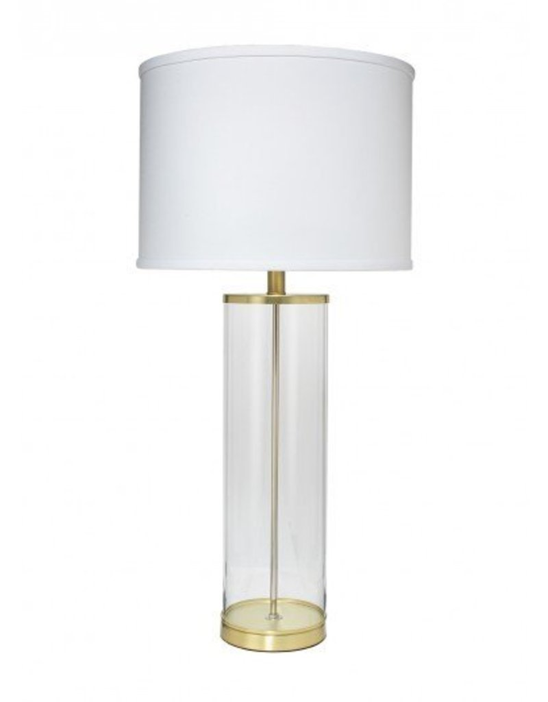 Rockefeller Table Lamp- Brass 31H/17D