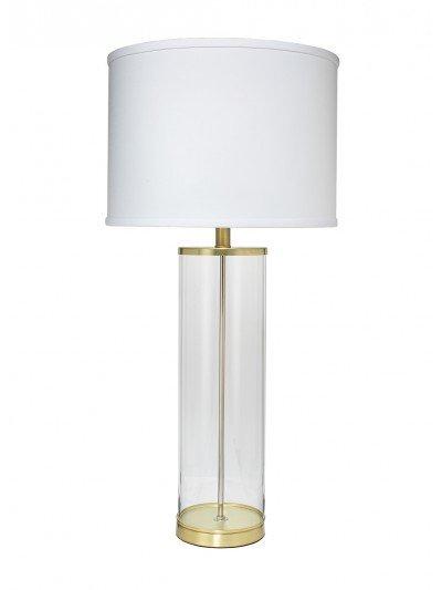 Rockefeller Table Lamp- Brass 31H/17D