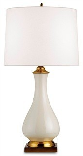 Lynton Table Lamp - White /31H