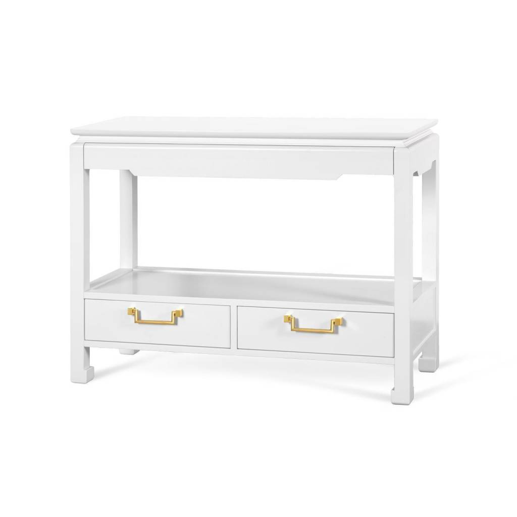 Julian Console Table/White