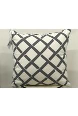 Kent Grey Pillow  19x19