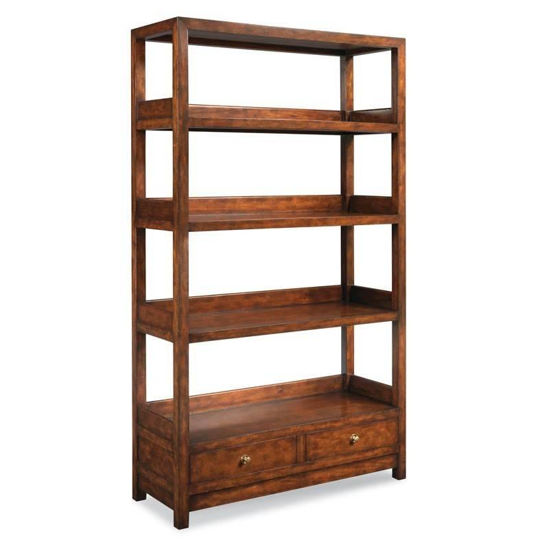 Winslow Bookcase #10 Bordeuax Finish