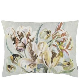 "TULIPA STELLATA BIRCH PILLOW 24"" x 18"""