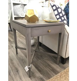 "MAPLE AVA SIDE TABLE D26 1/2"" x W21"" x H25 1/2"""