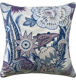 22X22 Pillow Zanzibar Hyacinth Piped