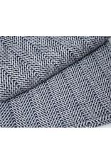 Navy, Granite, Silver Bamboo Dot Throw 44x72
