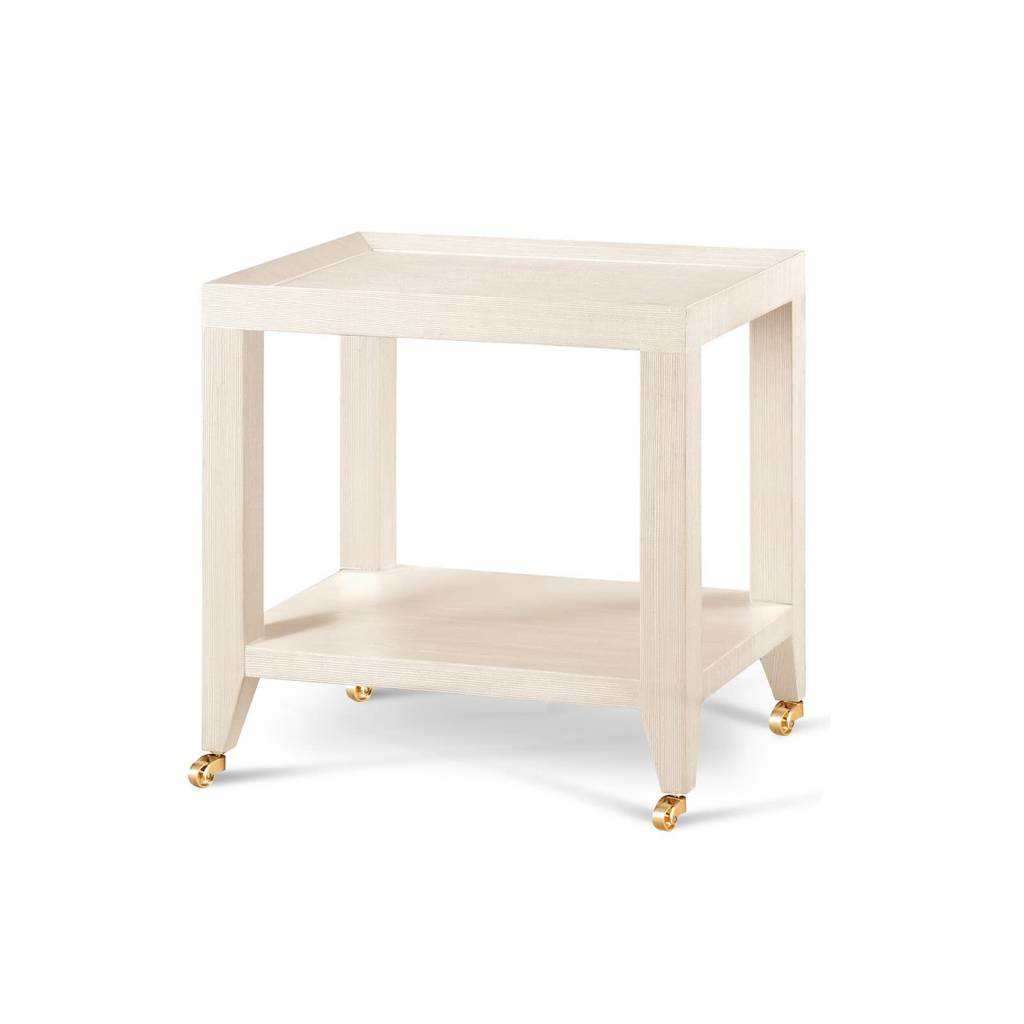 Isadora Tea Table - Natural 16.5Wx13Dx18H