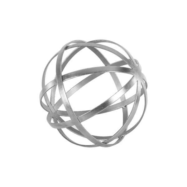 "Titan 9"" Silver Sphere"