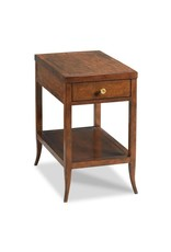 Provence Chairside Table - Bordeaux Finish