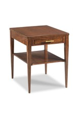 Provence Lamp Table - Bordeaux Finish