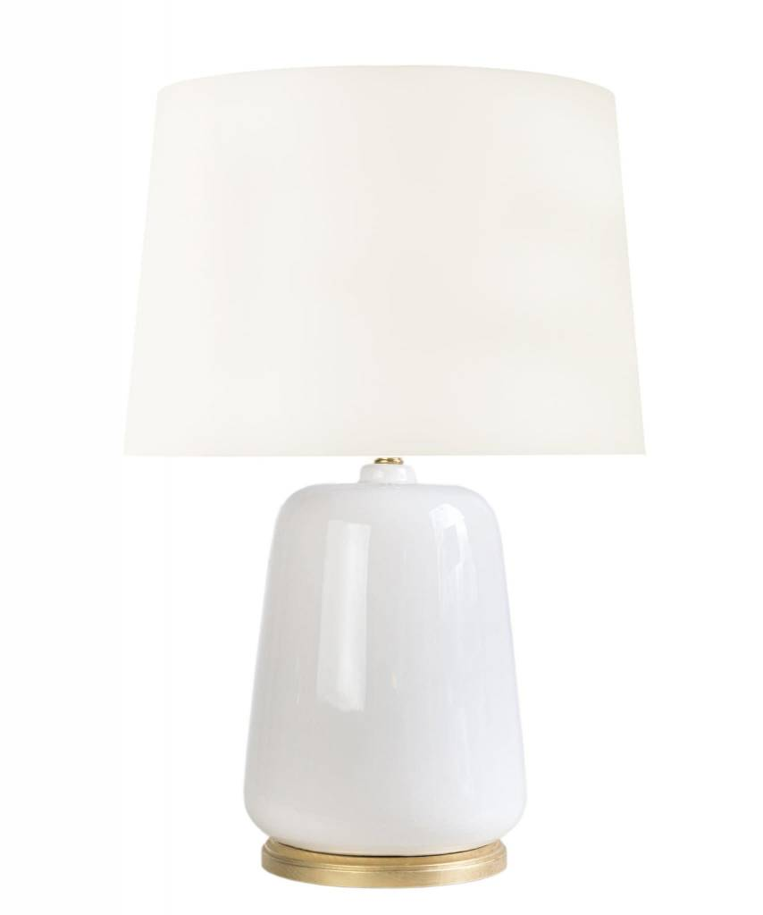 "Lafayette Table Lamp - White 22""h x 8""w"