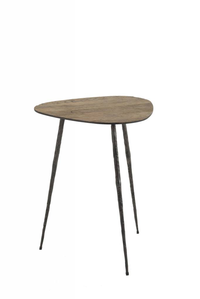 Jim Side Table Tall 15.5w x 20h