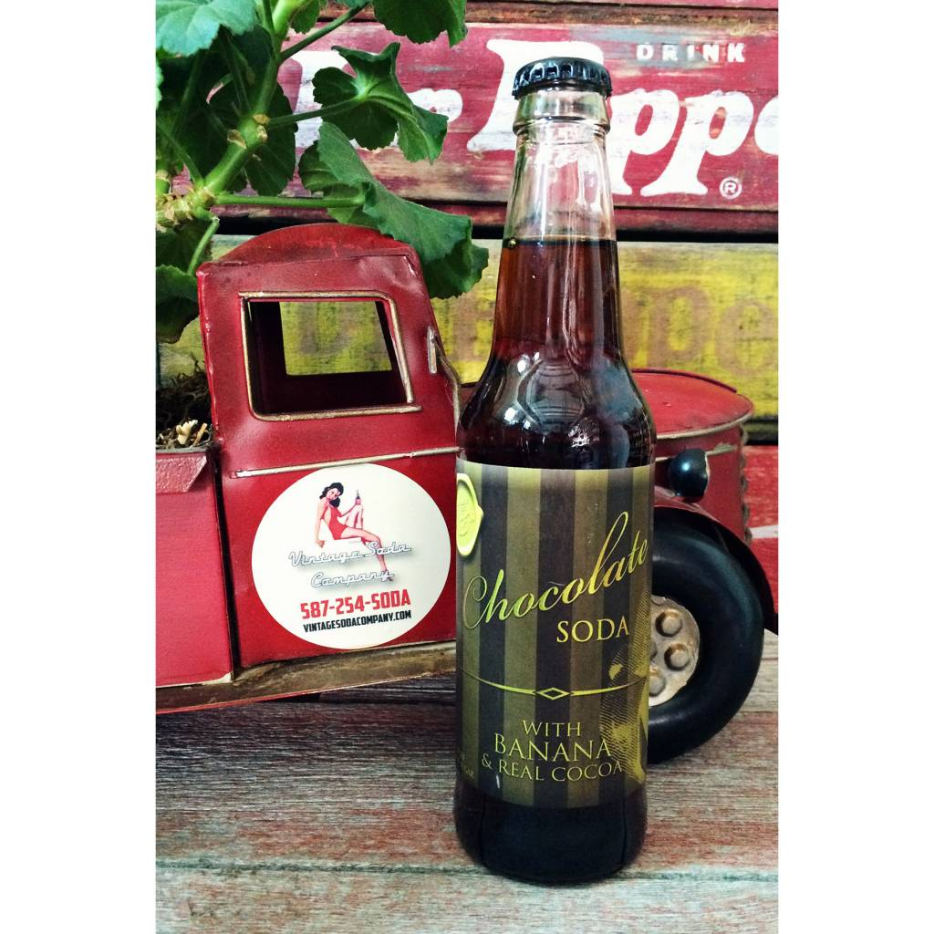 Rocket Fizz Chocolate Banana Soda