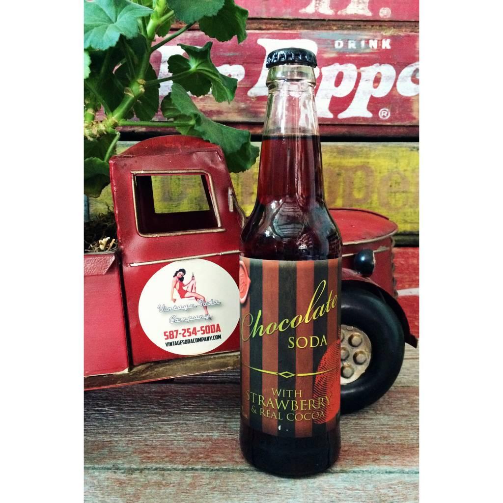 Rocket Fizz Chocolate Strawberry Soda - Vintage Soda Company