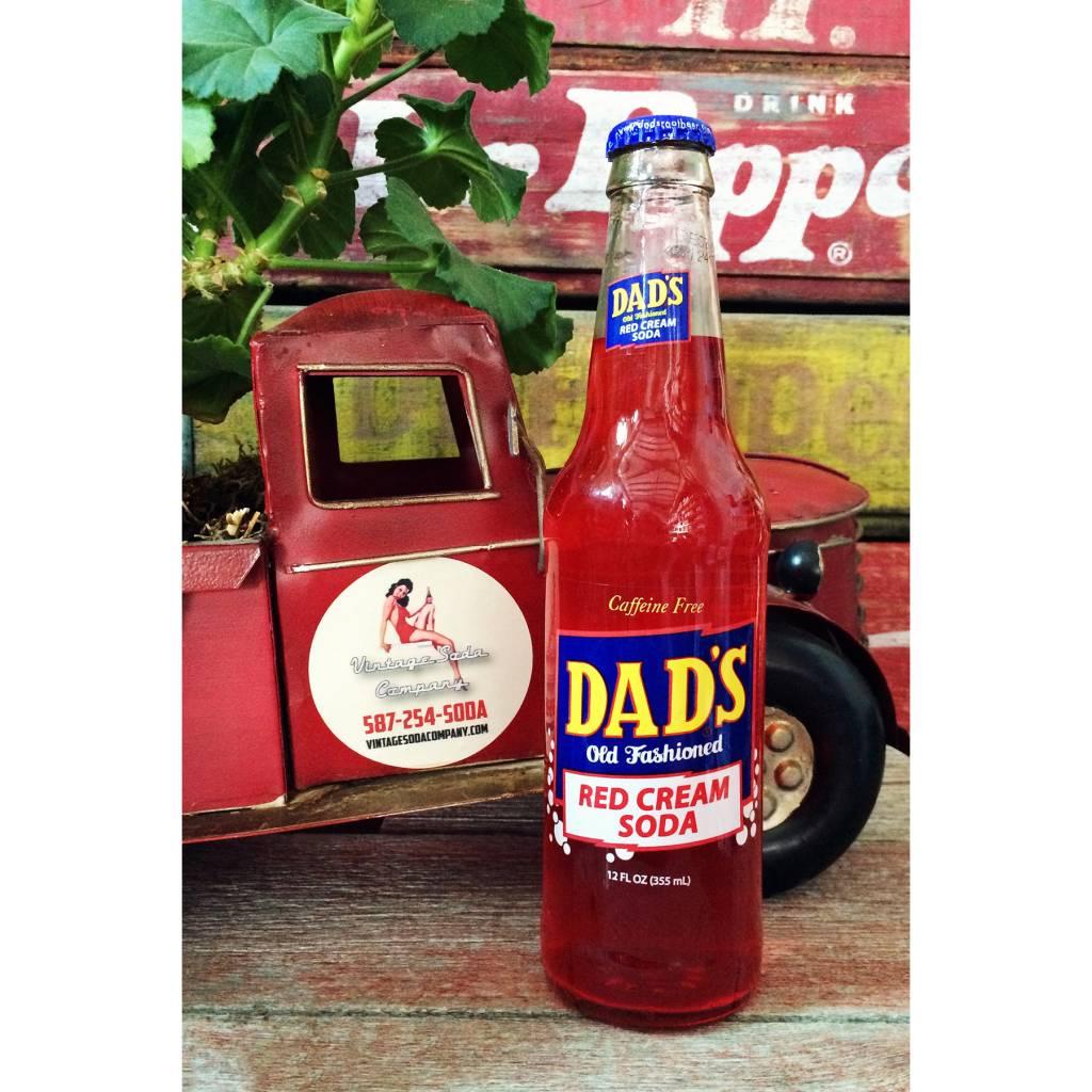 Orca Dad's Red Cream Soda