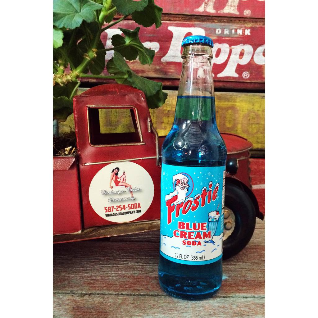 Frostie Frostie Blue Cream Soda - bottle