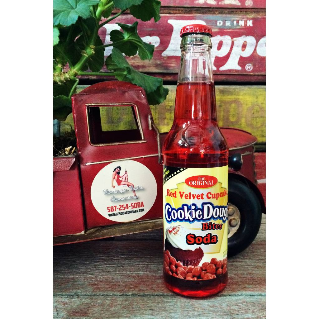 Rocket Fizz Cookie Bites - Red Velvet Soda