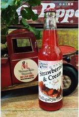 Rocket Fizz Melba's Fixins Strawberries & Cream
