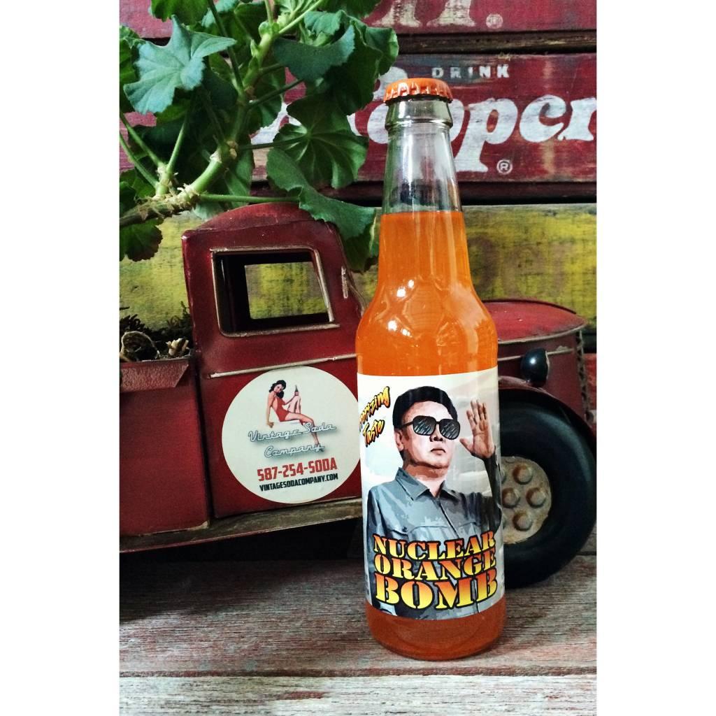 Rocket Fizz Nuclear Orange Bomb