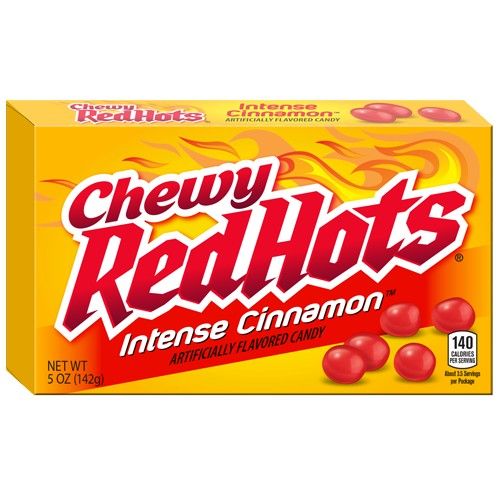 Chewy Red Hot Intense Cinnamon