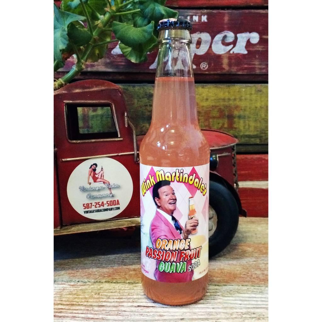 Rocket Fizz Wink Martindale's Orange Passion fruit Guava Soda