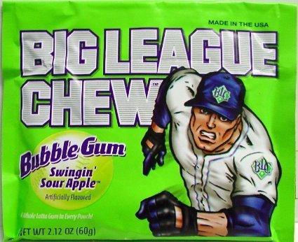 Big League Chew Apple