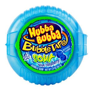 Hubba Bubba Bubble Tape Blue Raspberry