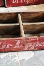 Red Dr Pepper Crate