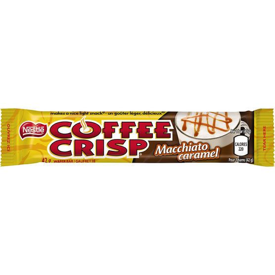 Macchiato Caramel Coffee Crisp