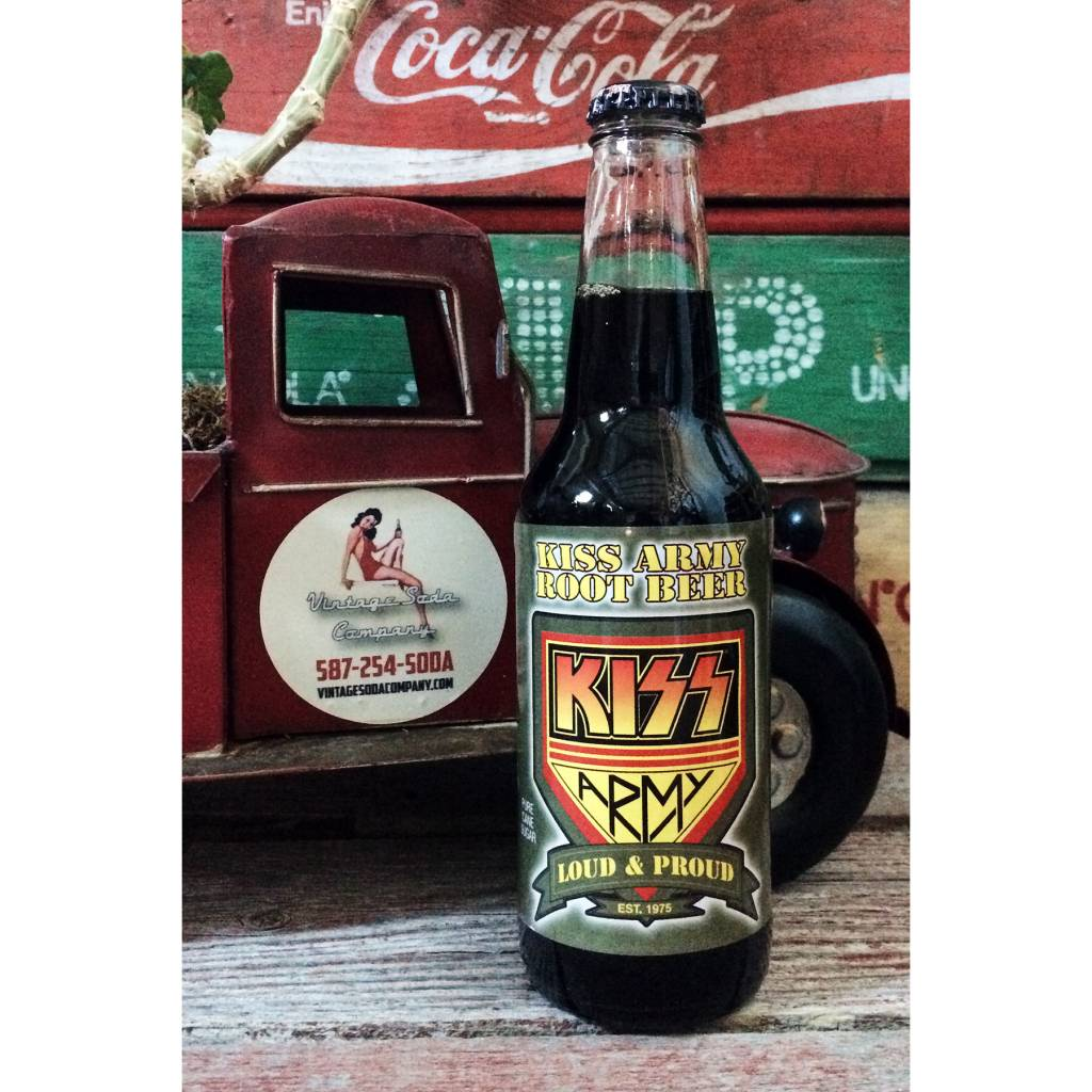 Rocket Fizz Kiss Army Rootbeer