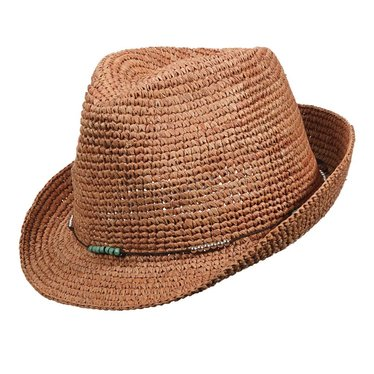 Christys' of London Raffia Fedora, Christy's of London