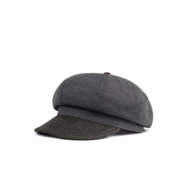 Brixton Montreal XL - Washed Black