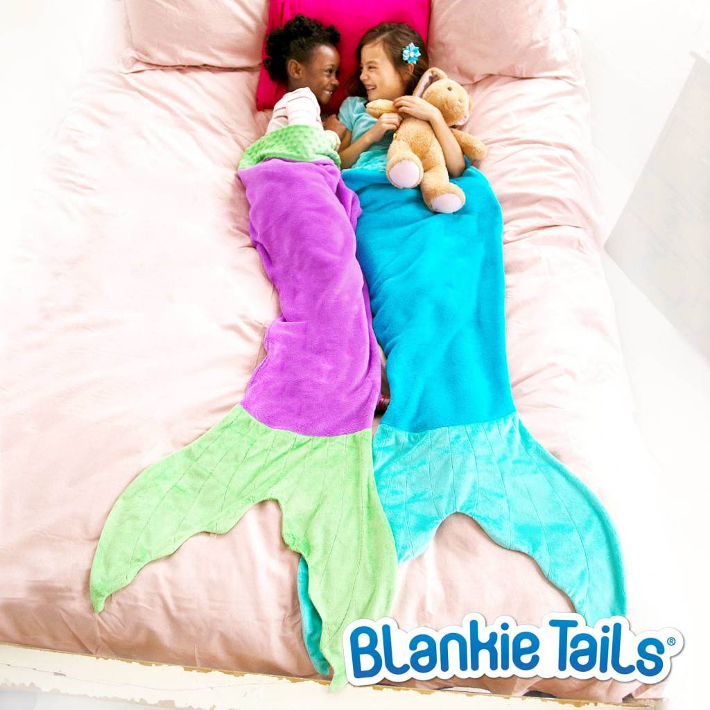 Blankie Tail Kids Mermaid Blanket - Mixed Colors
