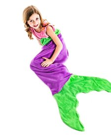 Kids Mermaid Blanket - Mixed Colors
