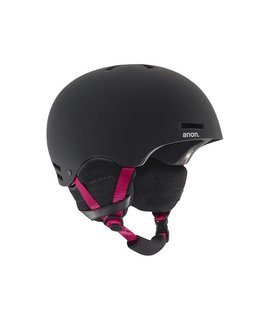 anon Greta Helmet Black/Pink