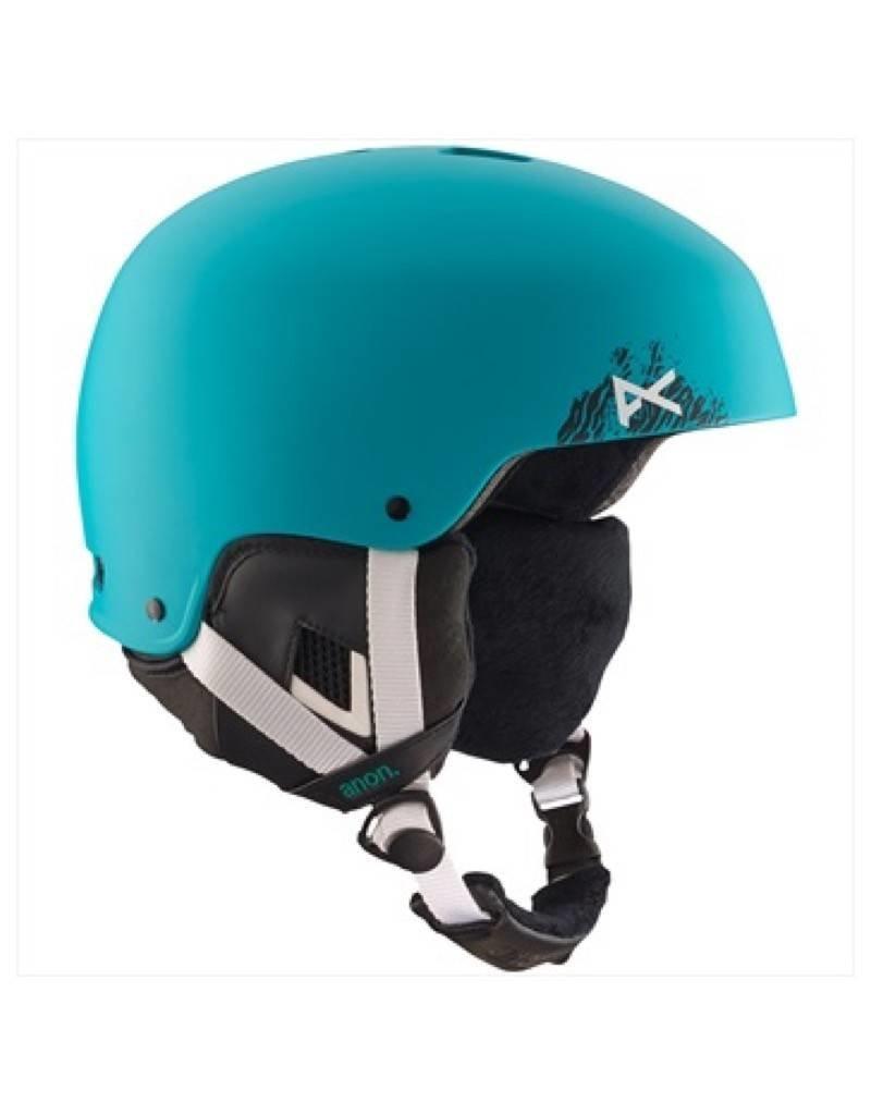 anon Lynx Helmet, Mowgli Teal, L