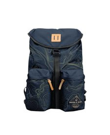 30L TOPOGRAPHY BASE BACKPACK -NAVY/OLIVE