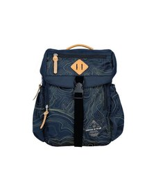 TOPOGRAPHY BLUFF UTILITY BACKPACK -NAVY/OLIVE